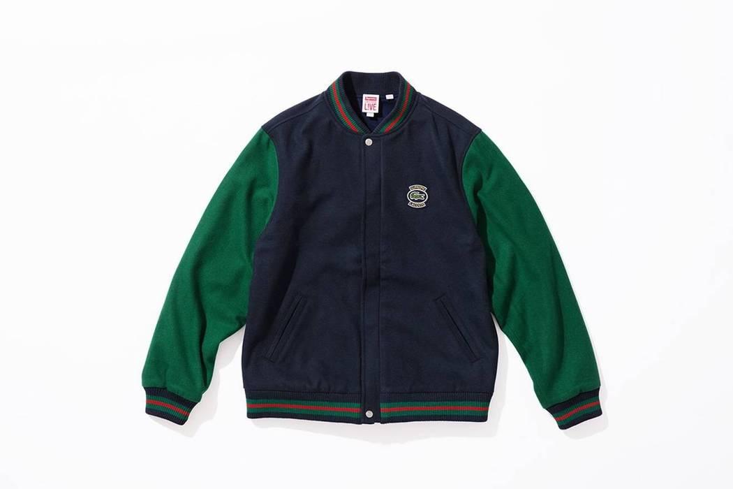 Supreme Supreme Lacoste Varsity Jacket Size M Bombers For Sale