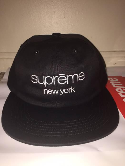 9d8004fd1cf Supreme Supreme Multi Color Twill Classic Logo 6-Panel Cap Size ONE SIZE