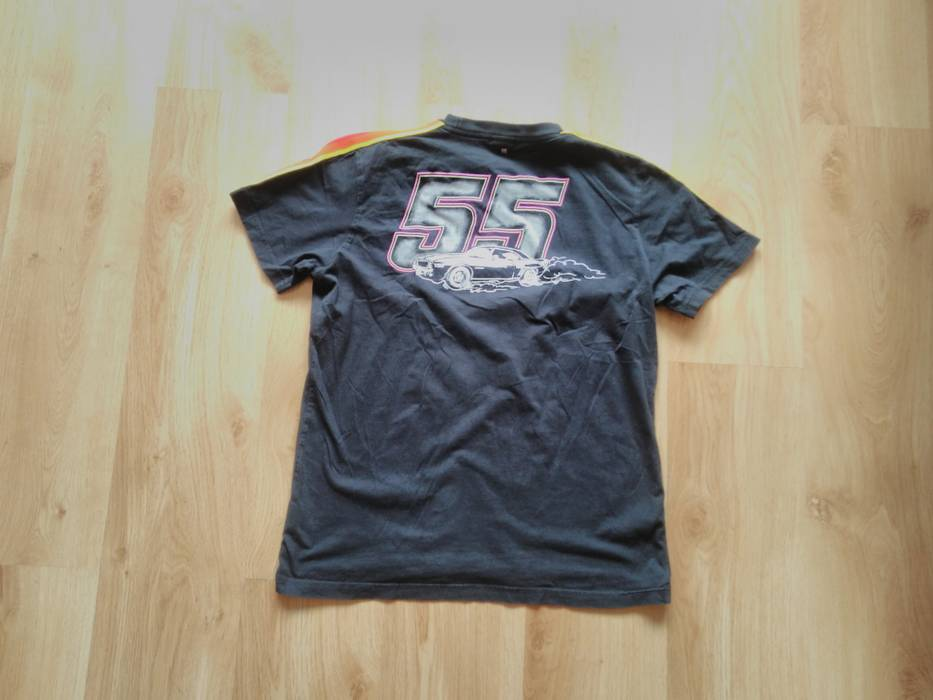 55dsl 55 DSL T Shirt Cotton Plaid Black Top Diesel Car Tshirt