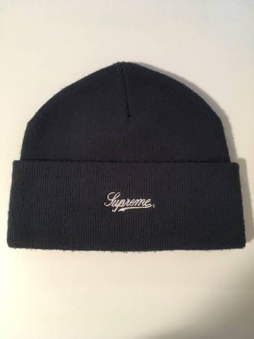 Supreme Supreme Beanie American Flag Script Winter Hat Toque Size ... 4a09f603fab