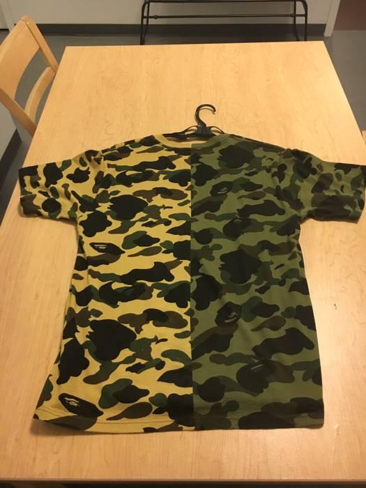 04fa35f2ce31 Bape Bape Two Tone Shirt Size l - Short Sleeve T-Shirts for Sale ...