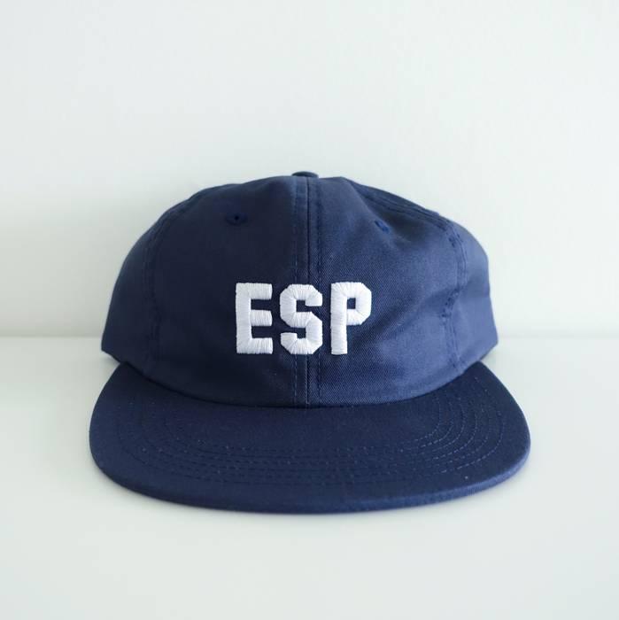 d2f547bf2de Supreme ESP 6-Panel Navy Cap Size one size - Hats for Sale - Grailed