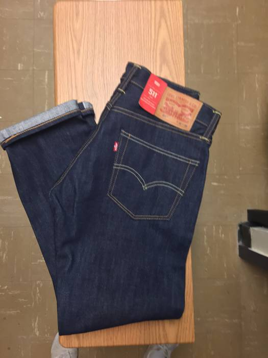 37c19b49374 Levi s Levis 511 Selvedge Raw Denim Size 32 - Denim for Sale - Grailed
