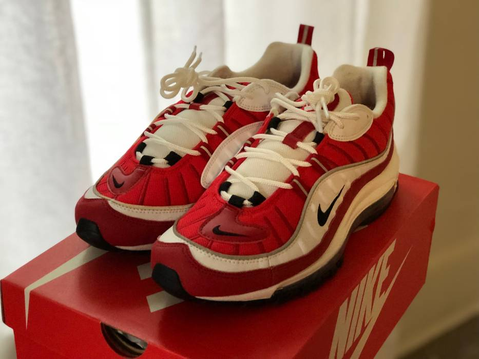 81445ed2f322 Nike DS Air Max 98 Valentines Gym Red Size 10 - Low-Top Sneakers for ...