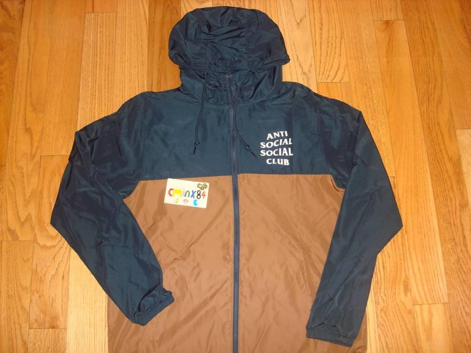 7cc8cc0bad80 Antisocial Social Club Antisocial Social Club ASSC NRTO Light Jacket Brown  Navy Size US M