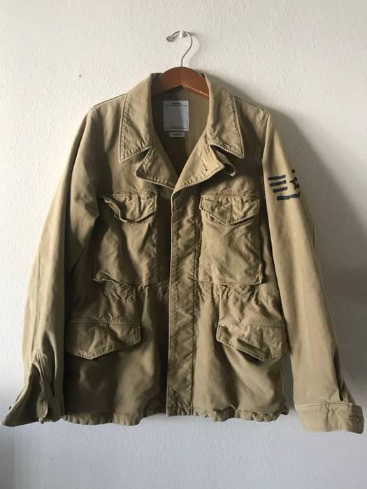 Visvim Achse Damaged Chino Jacket Size M Light Jackets For Sale