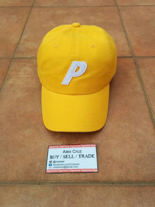 8abf0e62181 Palace Palace 6 Panel P Cap Tangerine Yellow Size one size - Hats ...