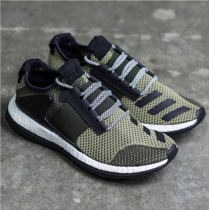 Adidas. Adidas Consortium Pure Boost ZG Day One - Pantone Olive Green ... f2ebc85ba