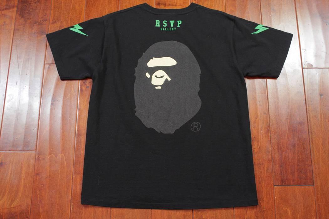 Bape Bape x RSVP Gallery T Shirt Bathing Ape Logo Head Mens Large Tee Japan  Size 292aa57ce4c