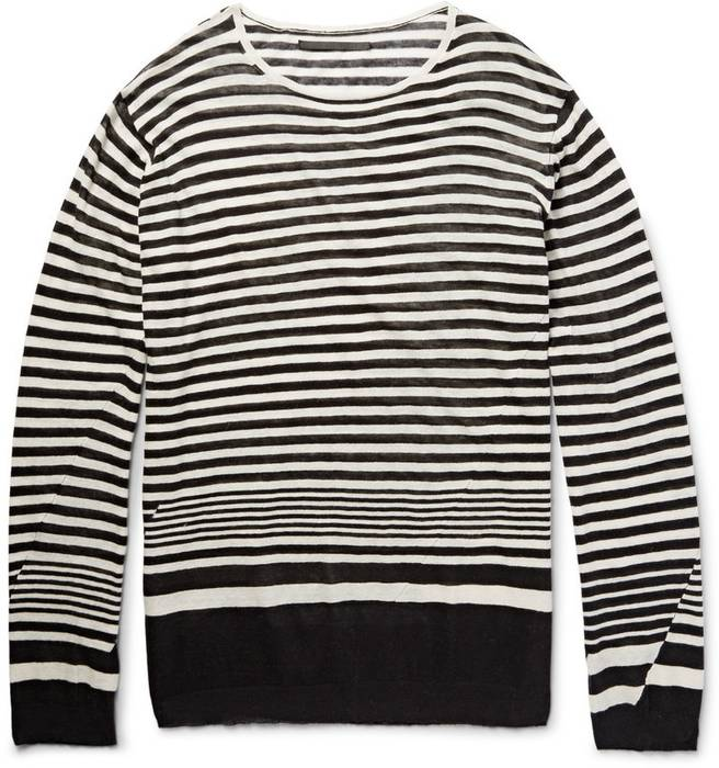 Haider Ackermann Light Cashmere Striped Sweater Size l - for Sale ... a0036a820