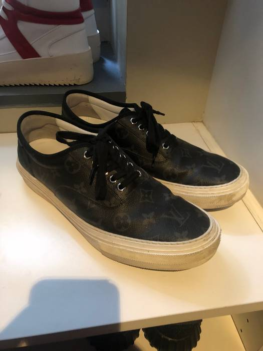 efd94748d6 Louis Vuitton Vans Style LV Sneakers Size 9 - Casual Leather Shoes ...