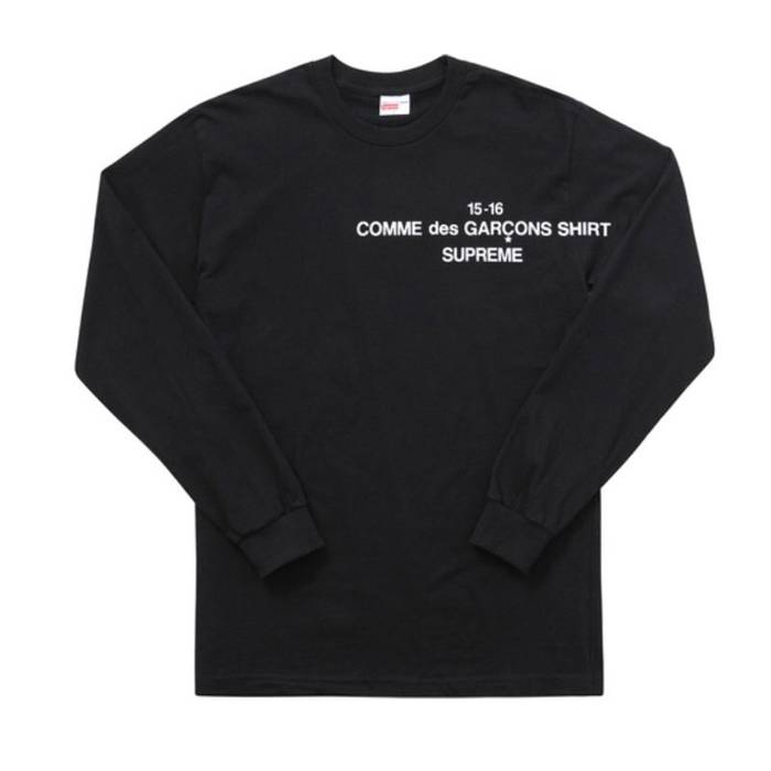 Supreme Supreme x CDG Long sleeve Size m - Long Sleeve T-Shirts for ... 31f1f0c7e429