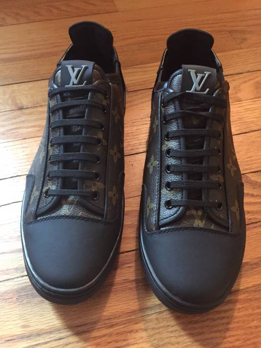 Louis Vuitton Louis Vuitton Monogram Slalom Sneakers Size US 10   EU 43 699f0e59415