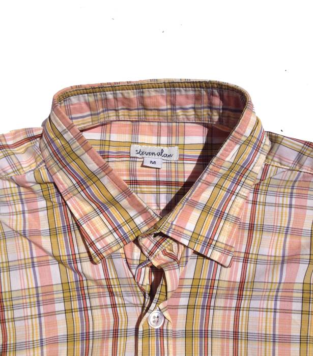 47dbb6008df Steven Alan plaid summer button down Size m - Shirts (Button Ups ...