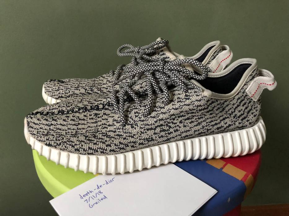 Adidas Kanye West Yeezy Boost 350 Turtle Dove Size 11 - Low-Top ... f3fb9e003
