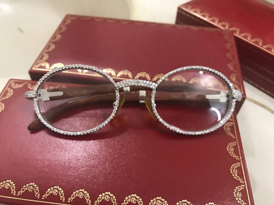86b440b882 Cartier diamond cartier glasses size one size glasses jpg 933x700 Cartier  buffs glasses diamonds