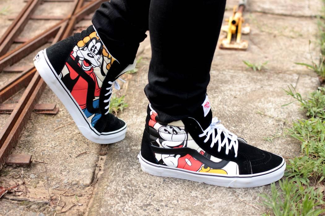 651146030b02e9 Vans RARE Vans Sk8-Hi Disney Collaboration Size 11 - Hi-Top Sneakers ...