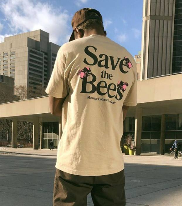 c73344b90ace Golf Wang Golf Wang Save The Bees Tee Size m - Short Sleeve T-Shirts ...