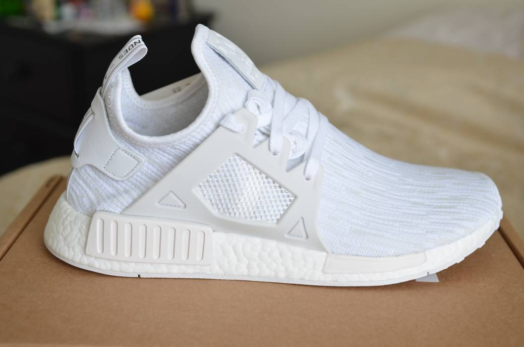 Adidas NEW Adidas XR1 Triple White NMD Size 10.5 - Low-Top Sneakers ... 247913489