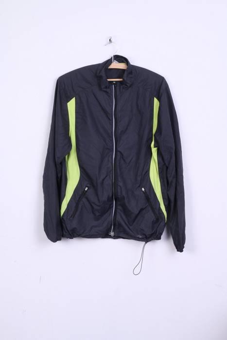 Nike Nike Mens L 42 44 Track Top Jacket Dark Grey Nylon Waterproof ... 0422a9b1d
