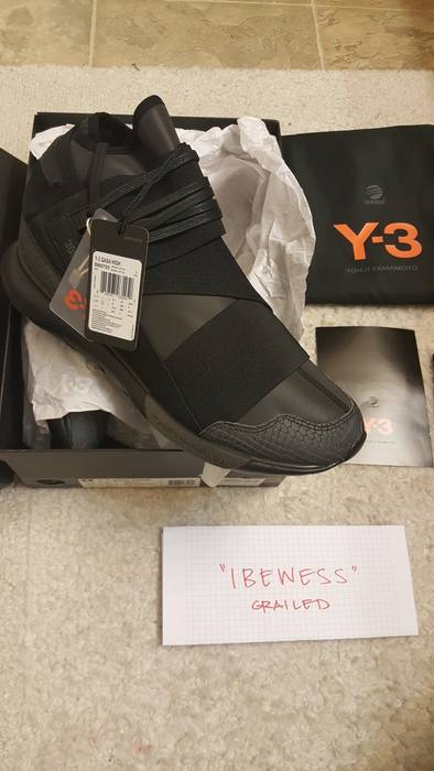 Y-3 Y-3 Qasa high 300 Limited 300 pairs only Size 10.5 - Hi-Top ... cab4fdbb4a60