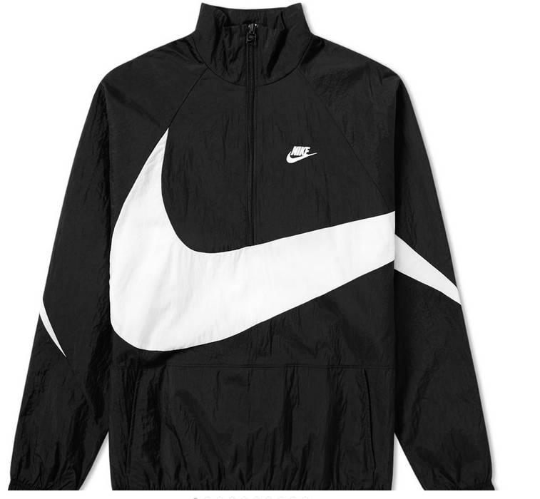 d3b14cd56e Nike     FINAL PRICE     Sportswear Big Swoosh Half Zip Anorak Windbreaker
