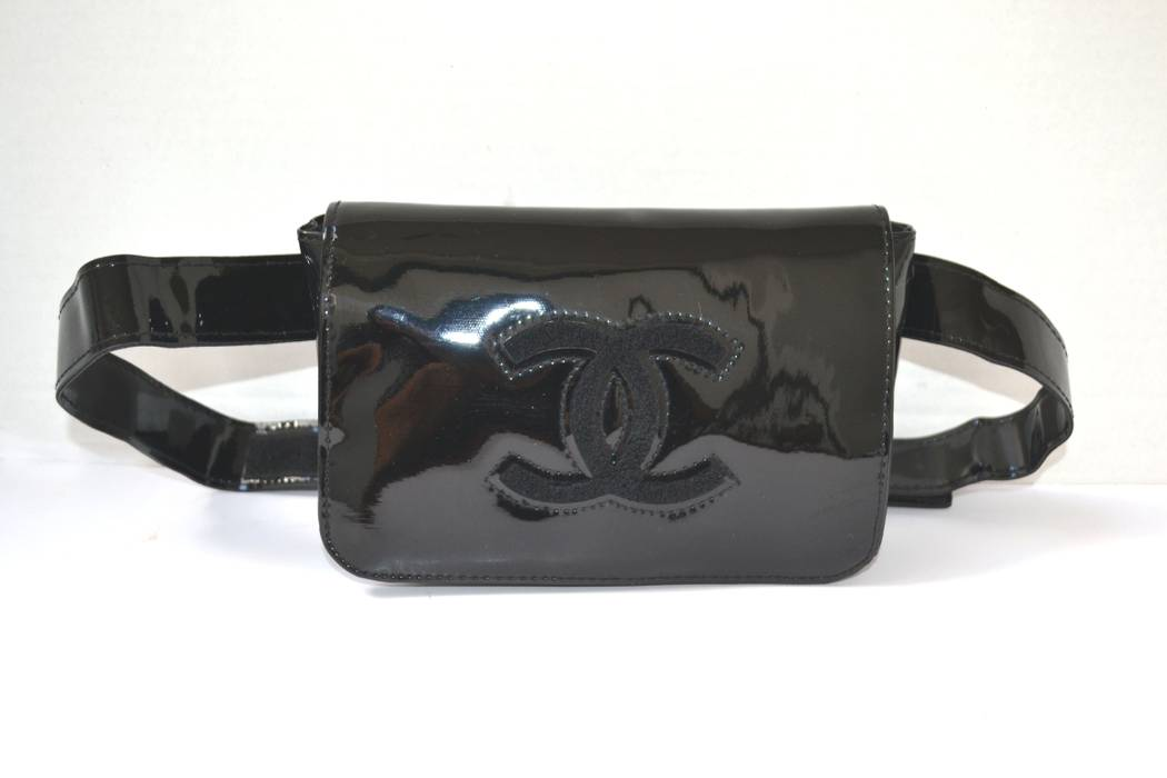 a2bd739d7691 Chanel FREE SHIPPING NEW Chanel Bum Bag Fanny Pack Belt Bag VIP Gift Black  PVC Authentic