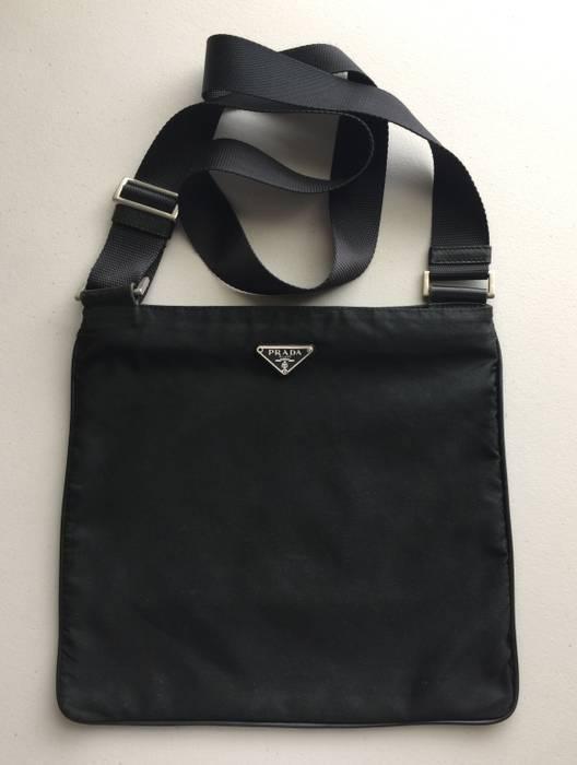 b60ac3deda71 Prada Black Nylon Crossbody Side Sling Messenger Bag Size one size ...