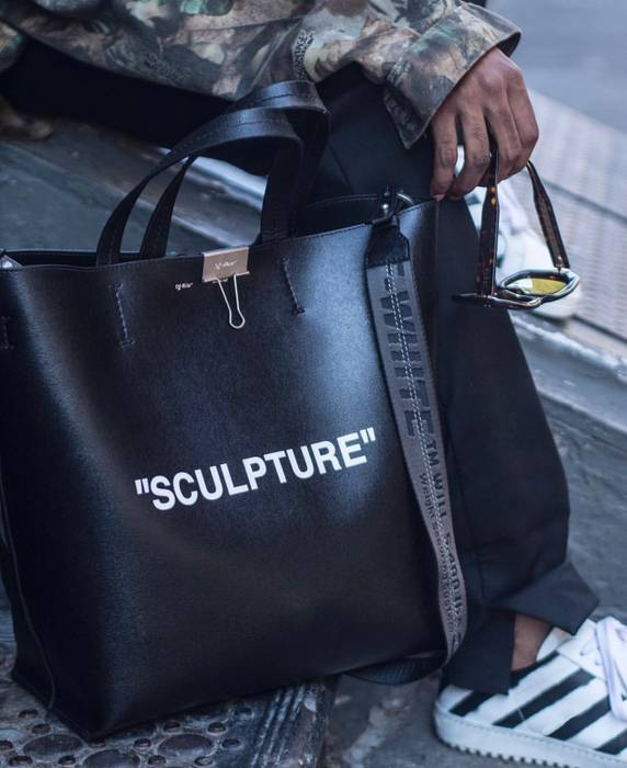 Off-White Large Sculpture Tote Bag Size one size - Bags   Luggage ... b7b720a67e226