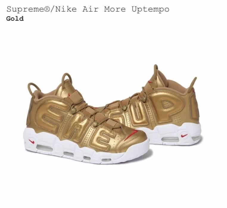 official photos 576b8 2373f Supreme Supreme X Nike Air More Uptempo