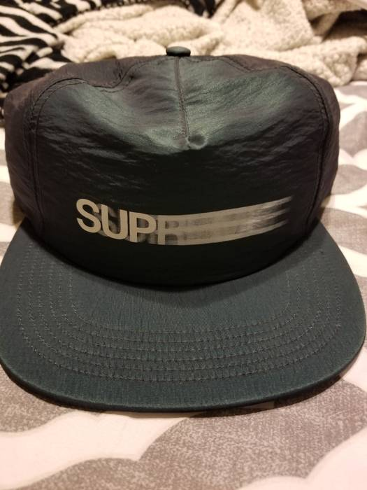 29ee2980699 Supreme Motion Logo Hat Size one size - Hats for Sale - Grailed