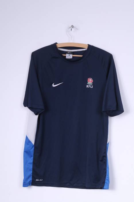 ac53715a6 Nike Nike Irish Rugby Football Union Mens L Shirt Crew Neck Sport ...