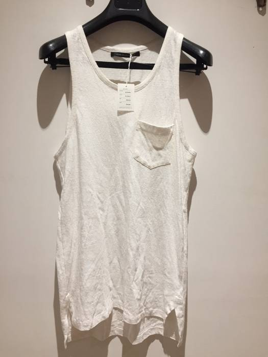 9e1b90b01f3512 John Elliott White Silk And Cotton Mercer Tank Size m - Tank Tops ...