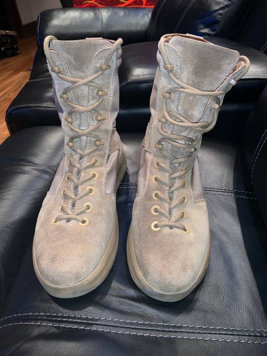 a6692c2a98e321 Adidas Kanye West Season 3 Military Boots Size 11 - Boots for Sale ...