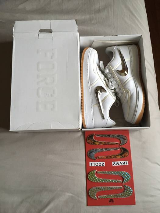 Nike White Air Force 1 Low Travis Scott OG Size 13 - Low-Top ... d8f6ed4c8