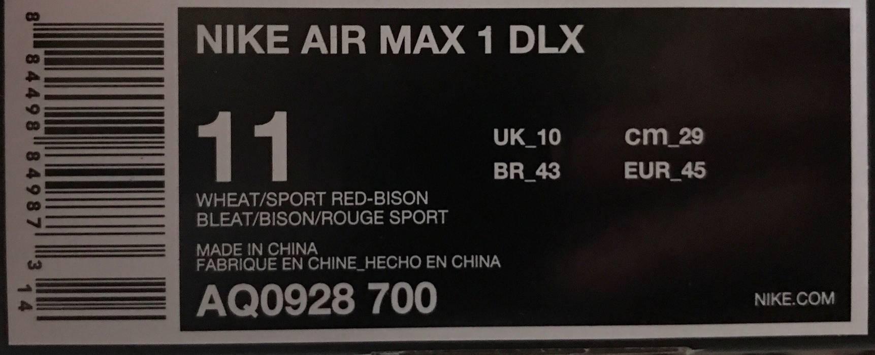 sneakers for cheap cb5d7 d3532 Nike Atmos x Nike Air Max 1