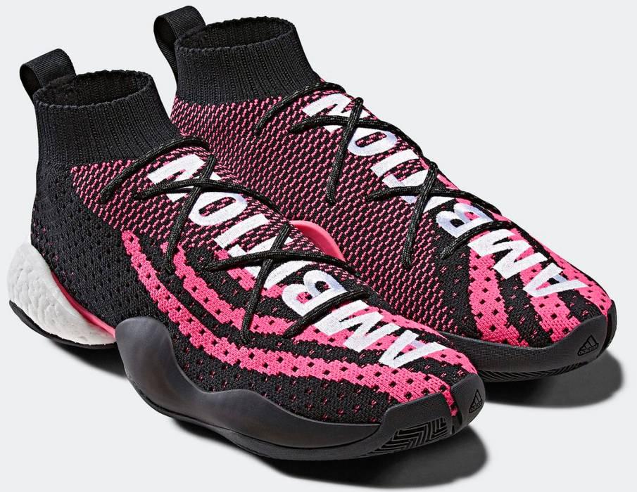 9b020a365 Adidas Crazy BYW LVL x Pharrell Williams Core Black Ambition G28182 Size US  8   EU