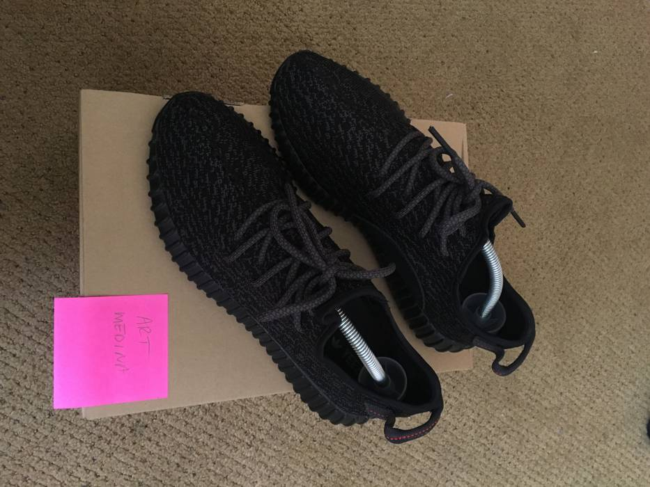 53ce1c90d02 Adidas Kanye West Pirate Black Yeezy 350 Boost Size 9 - for Sale ...