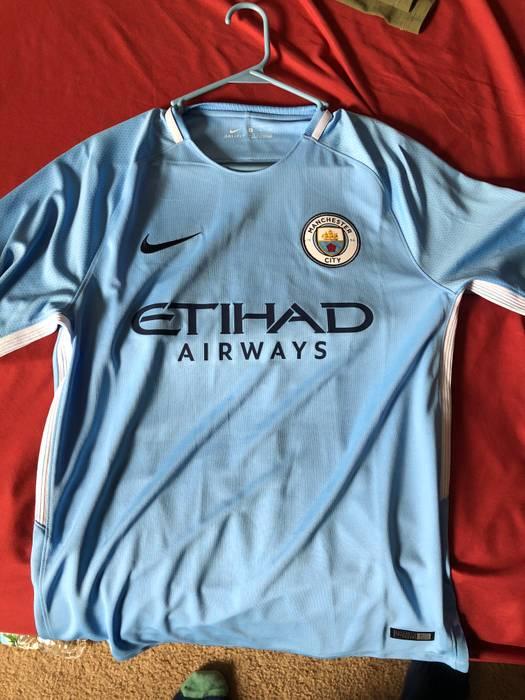 7597ddee5e0 Nike Nike Kevin de Bruyne Manchester City 17-18 Home Kit Size m ...