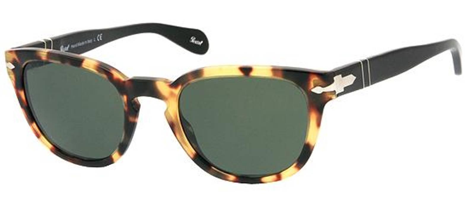 d3e0109092 Persol Havana Tortoise Shell Wayfarer Sunglasses Size one size ...