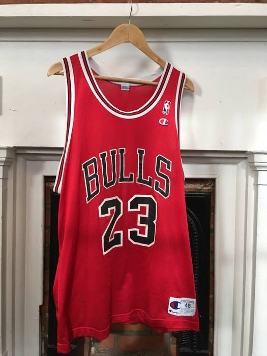 c874440f8 ... hot champion chicago bull michael jordan jersey size us m eu 48 50 2  721ce 81529