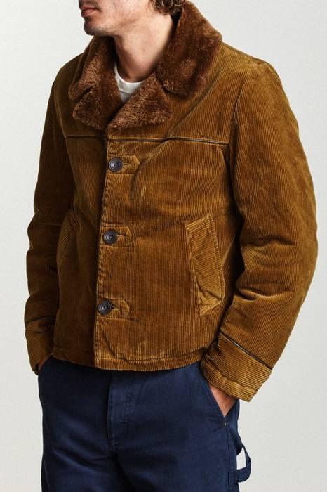 Brixton Wallace Corduroy Sherpa Jacket Brown Size m - Light Jackets ... 20703ba39ea