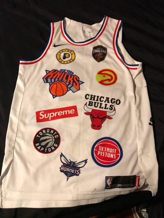 cd57d95617c Supreme Supreme X NBA Jersey Size m - Jerseys for Sale - Grailed