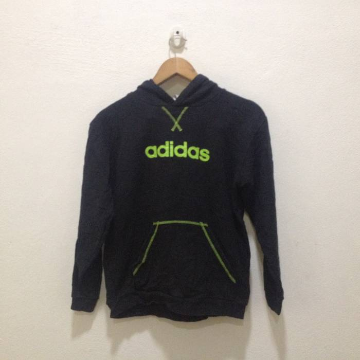 Adidas ADIDAS Sweatshirt Athlete Sweater Jumper Pull Over Swag Hip Hop  Streetwear Size US L   a01c8e52a7a