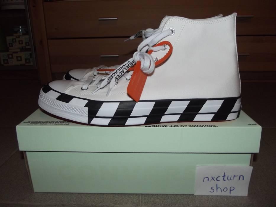 540e3280cf2 Off-White Converse x Off-White Chuck Taylor All-Star 70s Hi Size 13 ...
