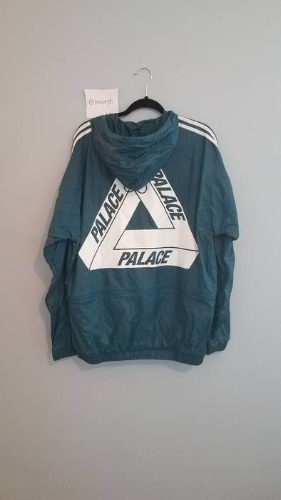 9dfdeaee945a Adidas Oversized Logo Windbreaker Size l - Light Jackets for Sale ...
