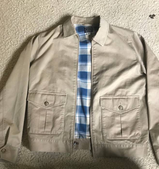 Jcrew Chino Work Jacket Size M Light Jackets For Sale Grailed