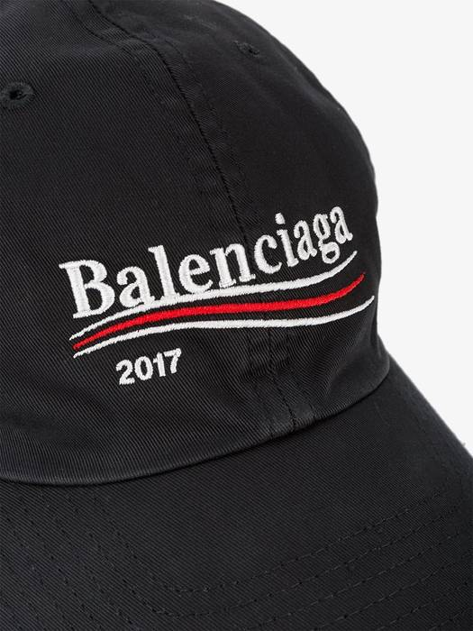 Balenciaga Campaign Logo Embroidered Hat Size one size - Hats for ... fd3ccebe191