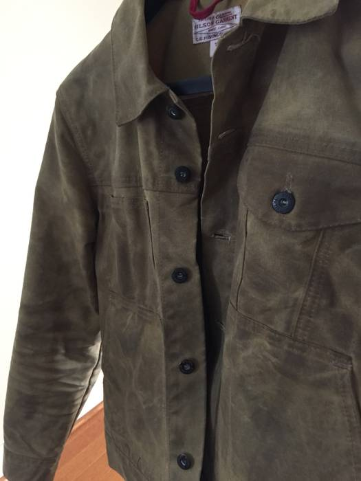 filson tin cloth cruiser jacket size s light jackets for sale