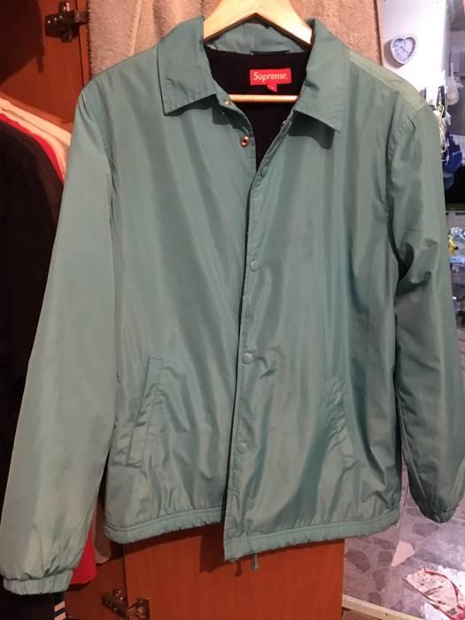 bee90a06a Supreme Supreme Old English Coach Jacket Light Blue Size m F W16 ...